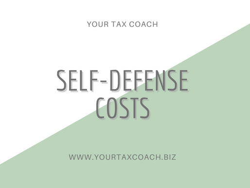 Self-defense costs; what are they?