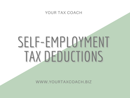 Self-Employment Tax Deductions