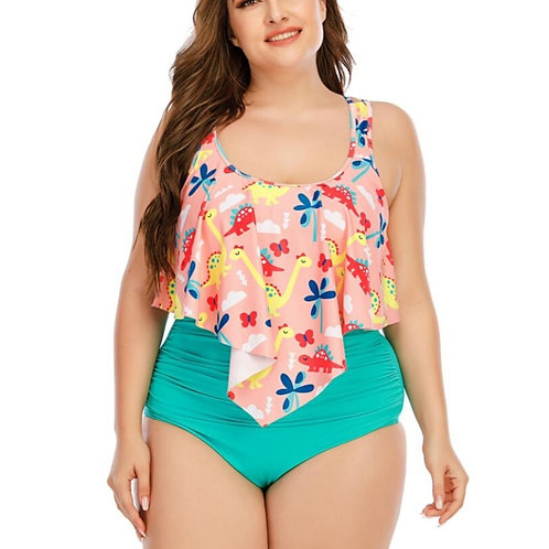 Turquoise Green High Waisted Swimsuit (120,000)