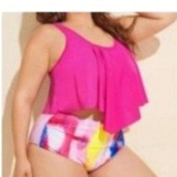 Multi Colour Plus size swimsuits (120,000 UGX)