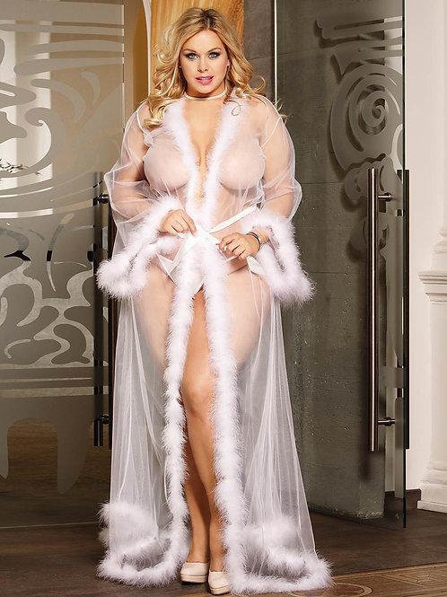 Luxury white Robe (120,000 Ugx)