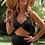 Thumbnail: Black Cut out One-piece Swimsuit