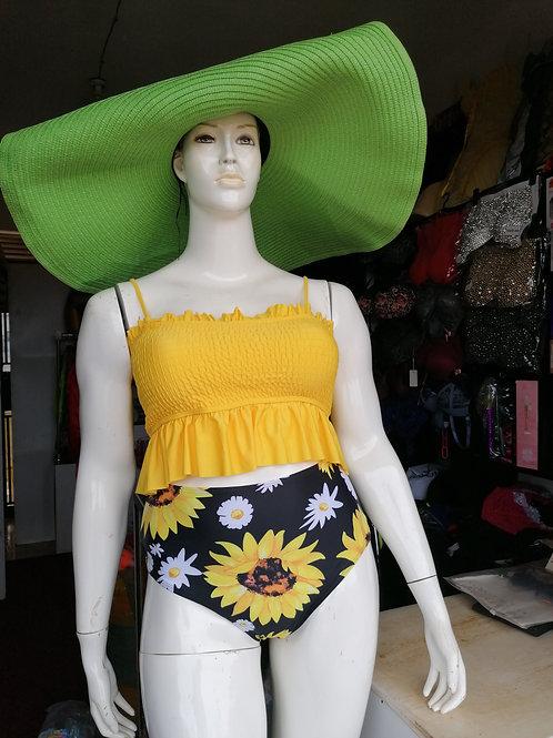 Sunflower High Waisted Swimsuit (120,000 UGX)