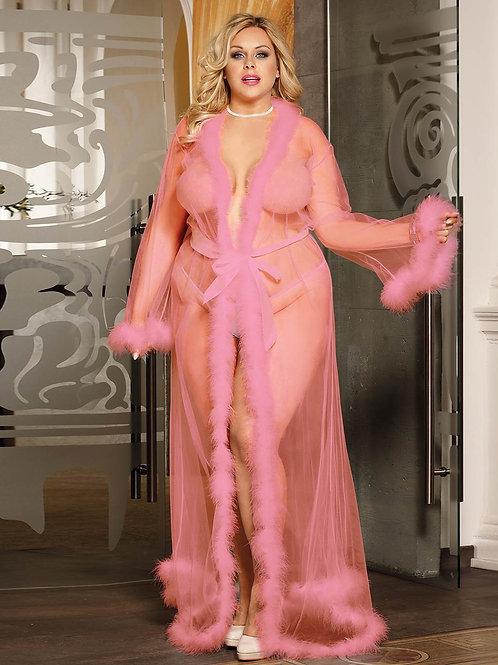 Luxury Pink Robe (120,000 Ugx)