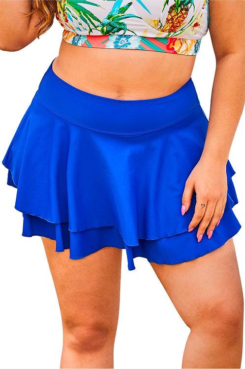 Royal Blue multipurpose Beach skirt