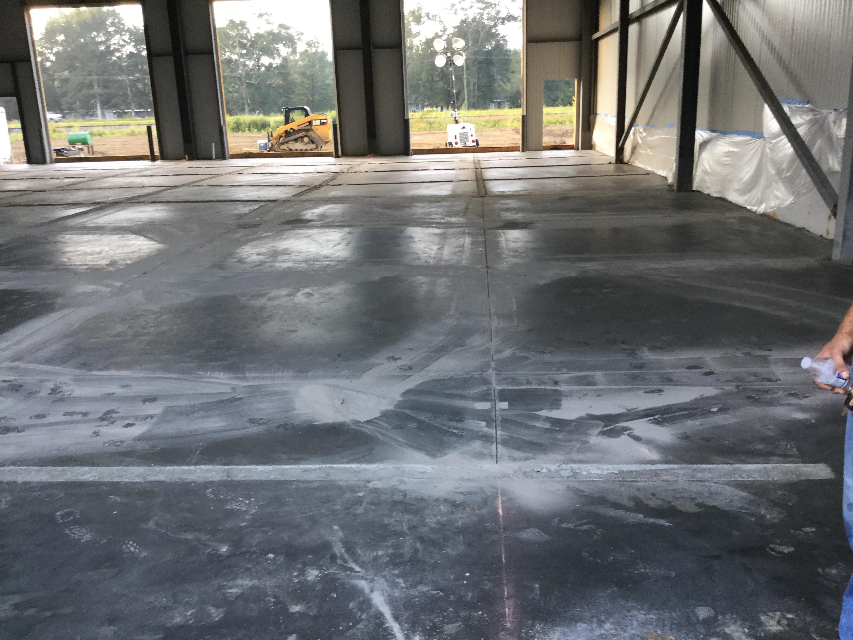 Concrete Slab Pour
