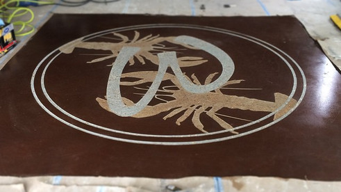 Compound Etched Logo done by Patriot Ind