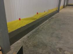 Interior Concrete Curbs