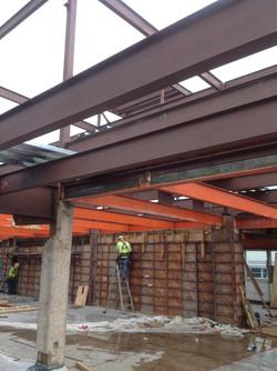 Concrete Shear Wall Install