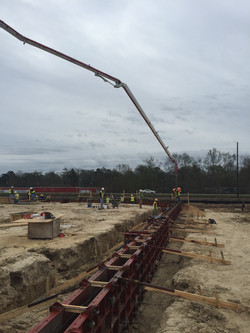 Foundation Wall Pour