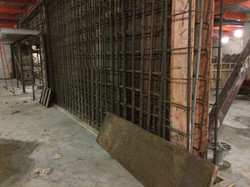 Concrete Wall Reinforcing