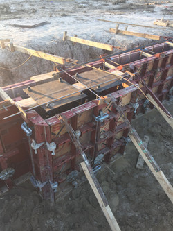 Anchor Bolts and Formwork