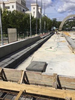 Light weight concrete walls