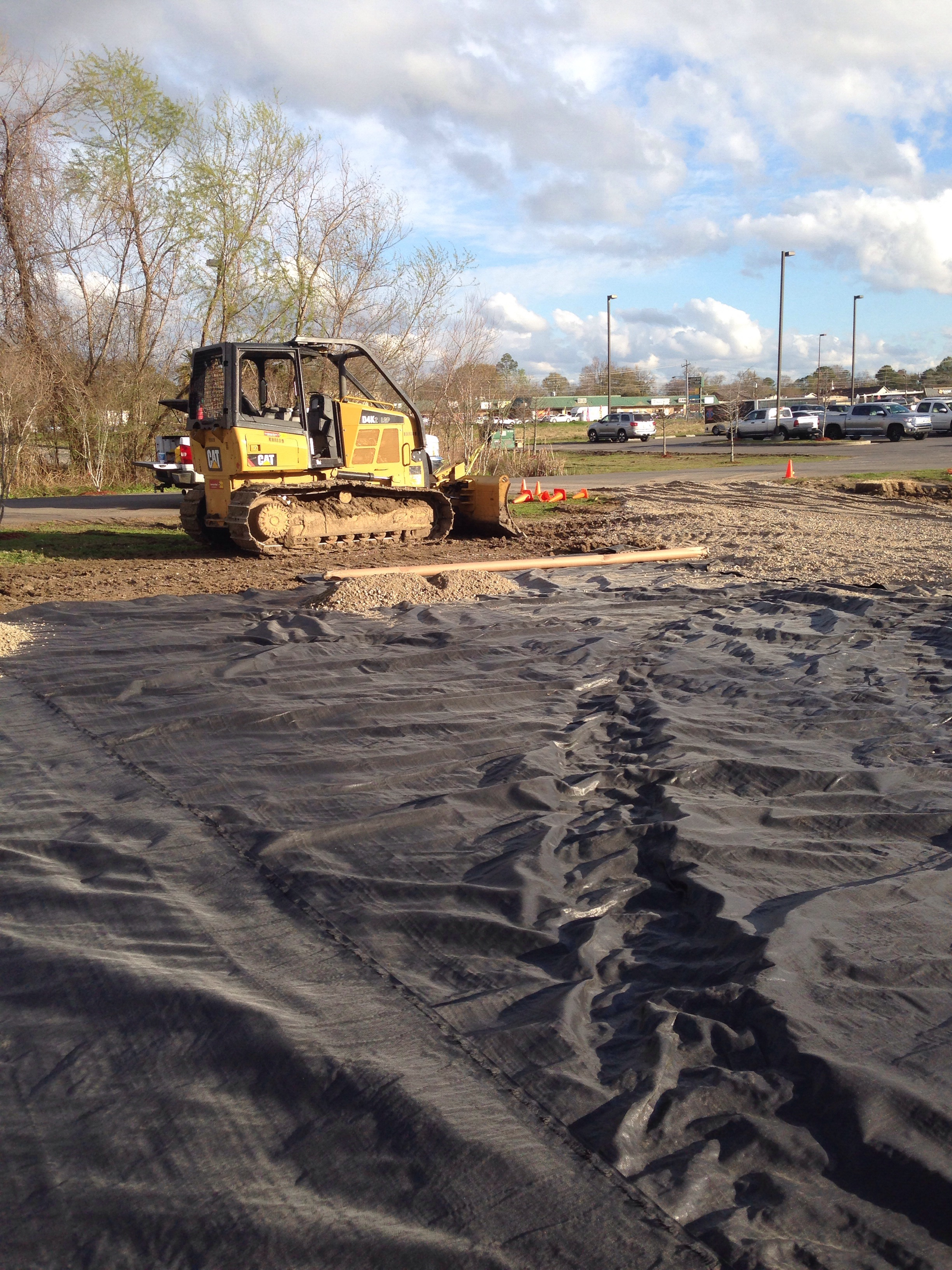 GeoTextile Site Work