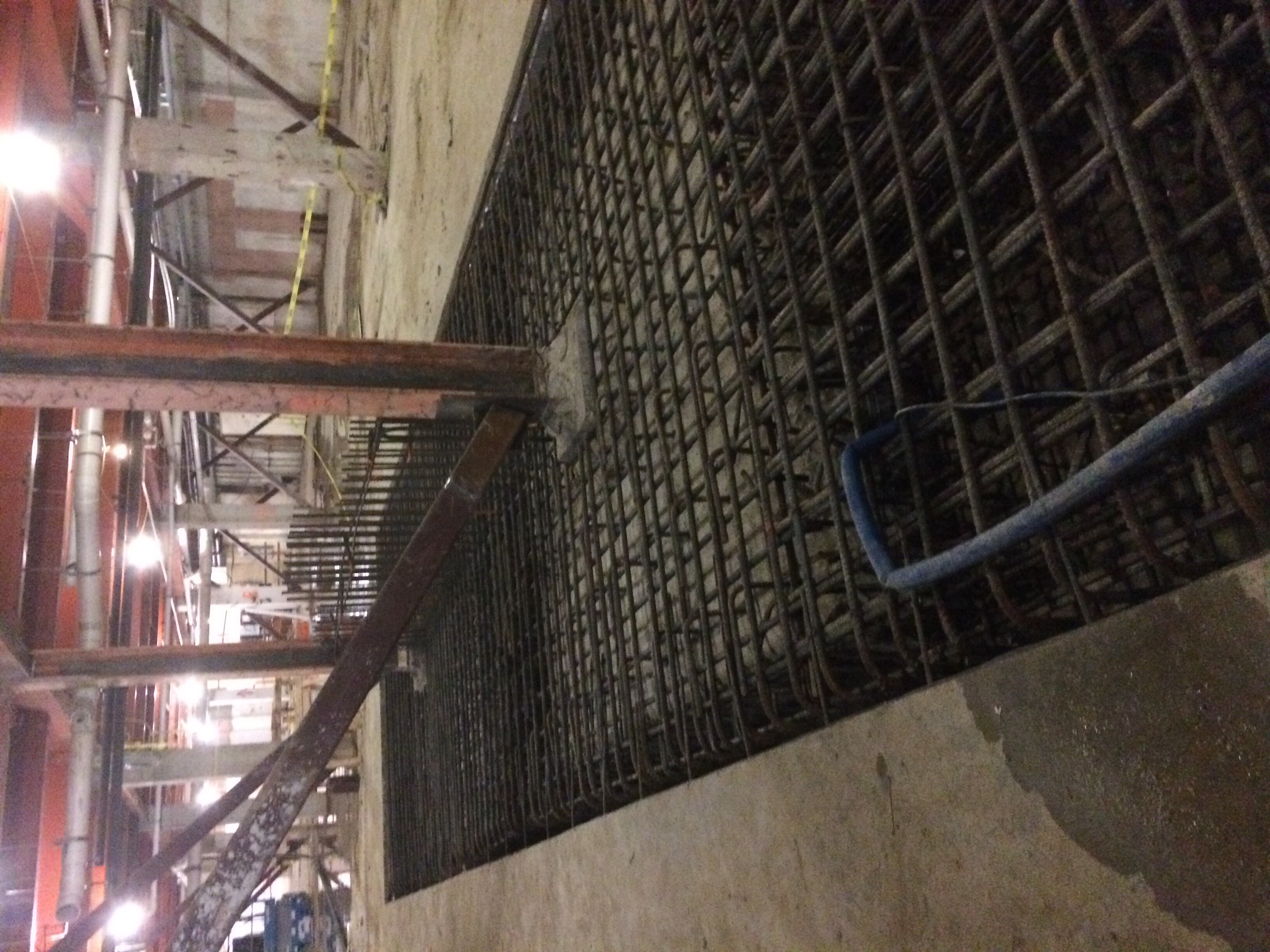 Concrete Shear Wall Footing