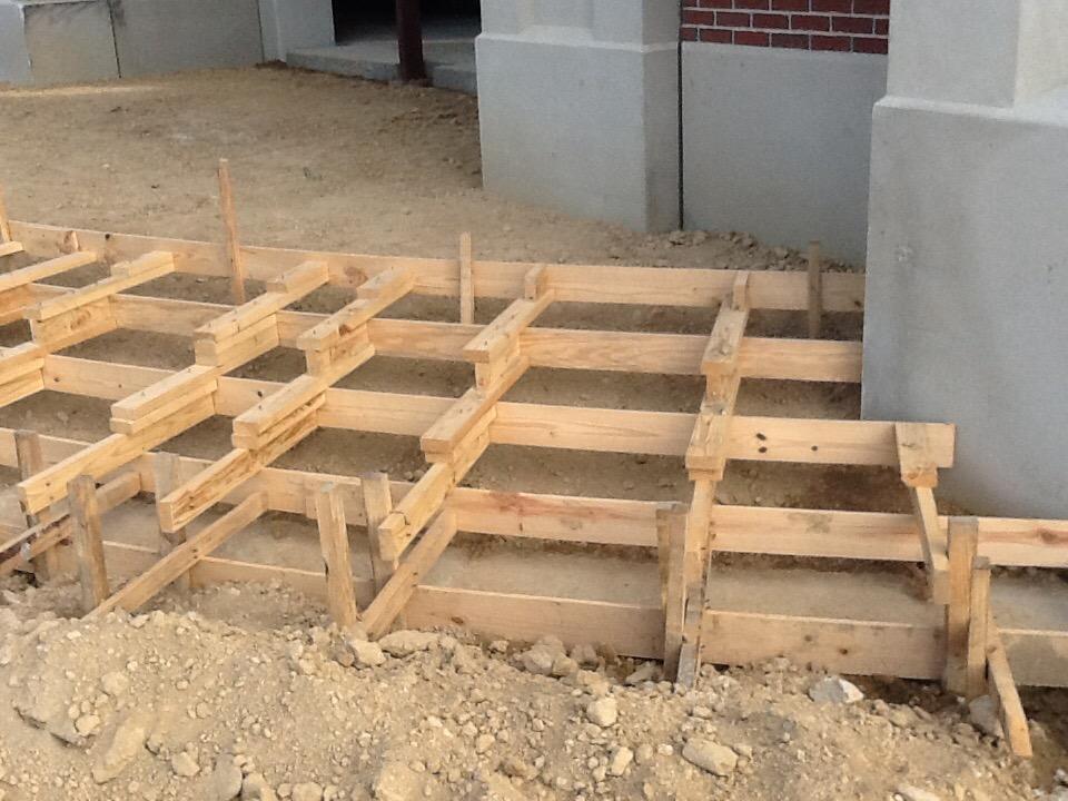 Altar Steps Formwork