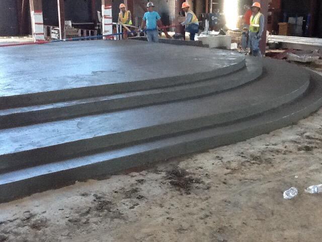 Pervious Concrete Integral Color