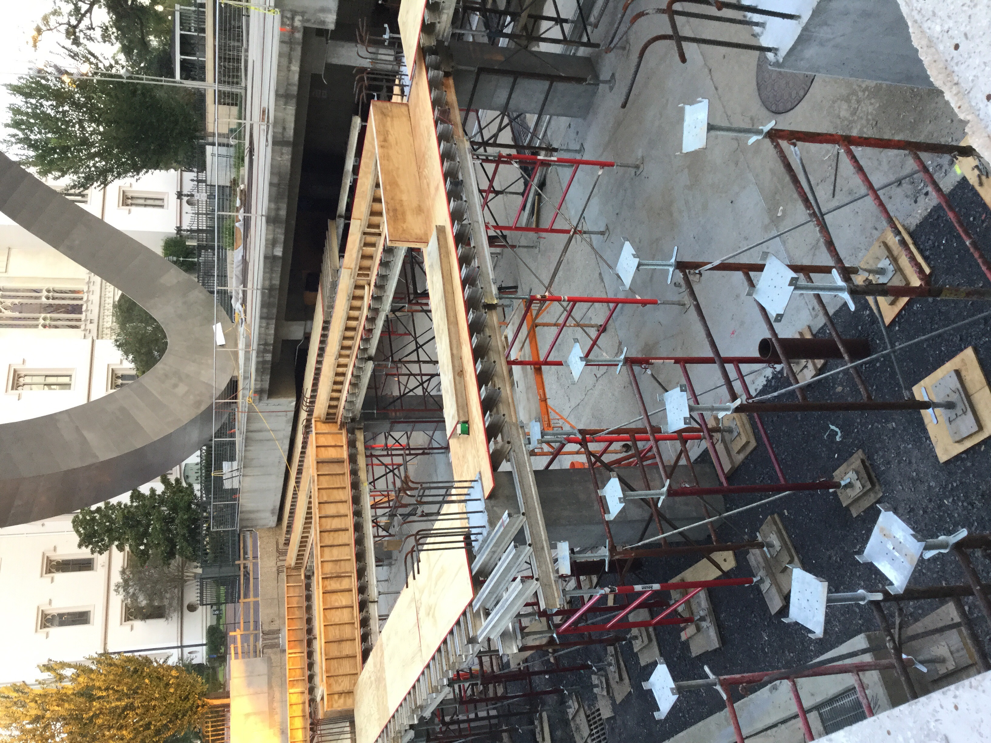 Elevated Concrete Deck Shoring