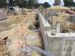 Concrete Foundation Wall