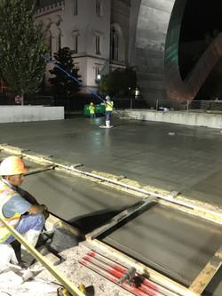 Elevated Structural Concrete Pour