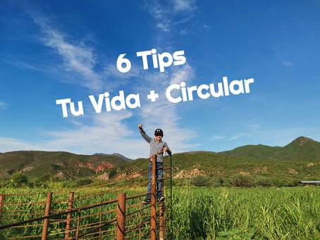 """Tips para una vida """"más circular"""""""