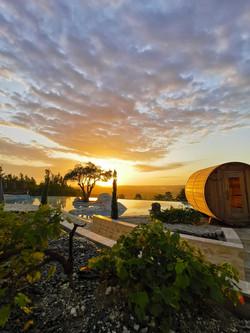 Sauna bulle panoramique