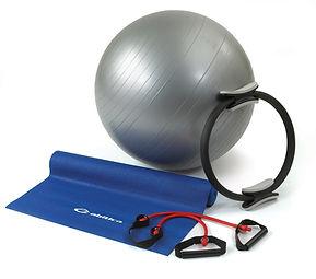 Programme d'exercices variés visant un rééquilibrage du corps par un renforcement des muscles profonds.