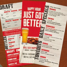 Red Zone Table Cards