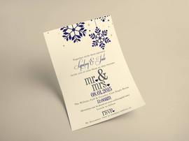 Wedding Invitation - Lyndsay & Jude