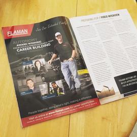 Flaman Magazine Ad