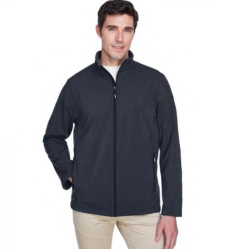 Core 365  - Men's Cruise Two-Layer Fleece Bonded SoftShell Jacket