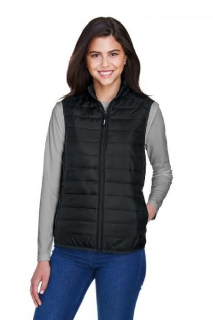 Core 365 - Ladies' Prevail Packable Puffer Vest