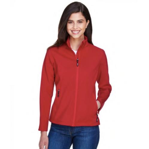 Core 365 78184 - Ladies' Cruise Two-Layer Fleece Bonded SoftShell Jacket