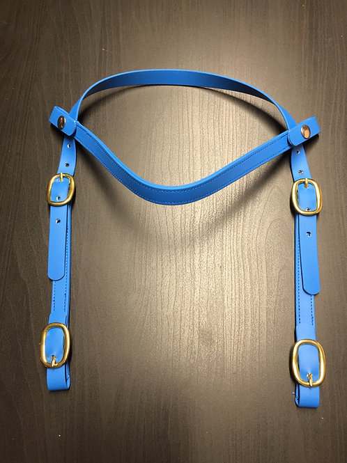 MareFlare Deluxe Trail Snap-On Headstall