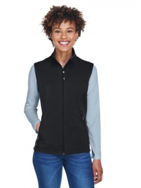 Core 365  - Ladies' Cruise Two-Layer Fleece Bonded SoftShell Vest