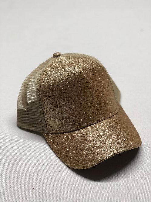 Glitter High Pony Hat