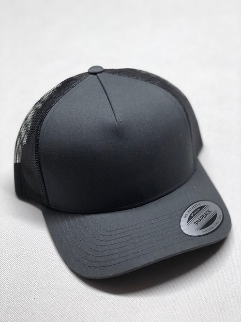 Yupoong Mesh Snap-Back Cap - 5 panel