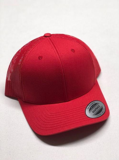 Yupoong Mesh Snap-Back Cap