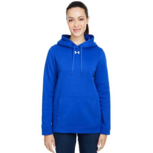 Under Armour  - Ladies Hustle Pullover Hooded Sweatshirt
