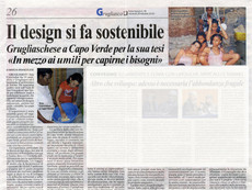 """In Cape Verde, """"Design becomes sustainable: among the humble to understand their needs"""""""