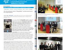 "In Italy, award at Pininfarina's ""Shop Ability"" International Design Contest"