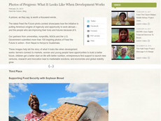 """Photos of Progress: what it looks like when development works"" - award at international photo contest"