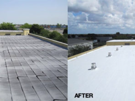 Which is the best roof coating material for a commercial roof.