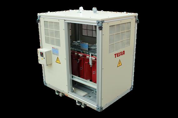 Gabinete de protección IP 41 para Transformador Seco encapsulado en resina epóxica  clase F 150 kVA Serie 12/1.1 kV