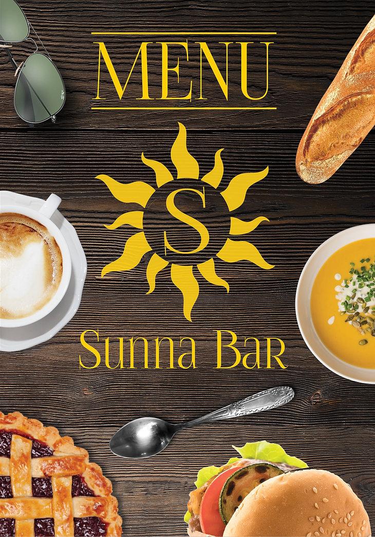 Sunna Bar Menü Seite 1