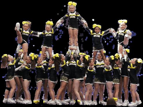 Junior All Girl Pyramid