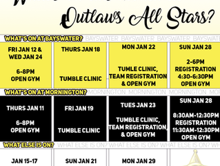What's on this month at Outlaws-Edge?