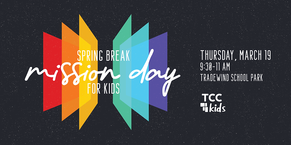 Spring Break Mission Day for Kids