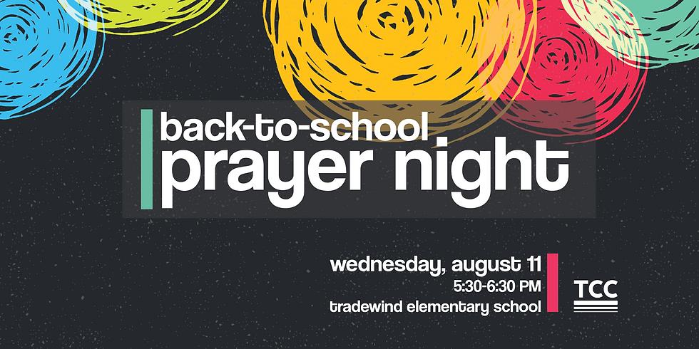 Back-to-School Prayer Night