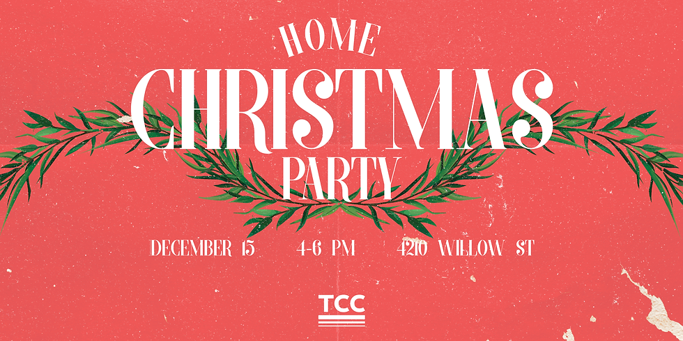 Home Christmas Party